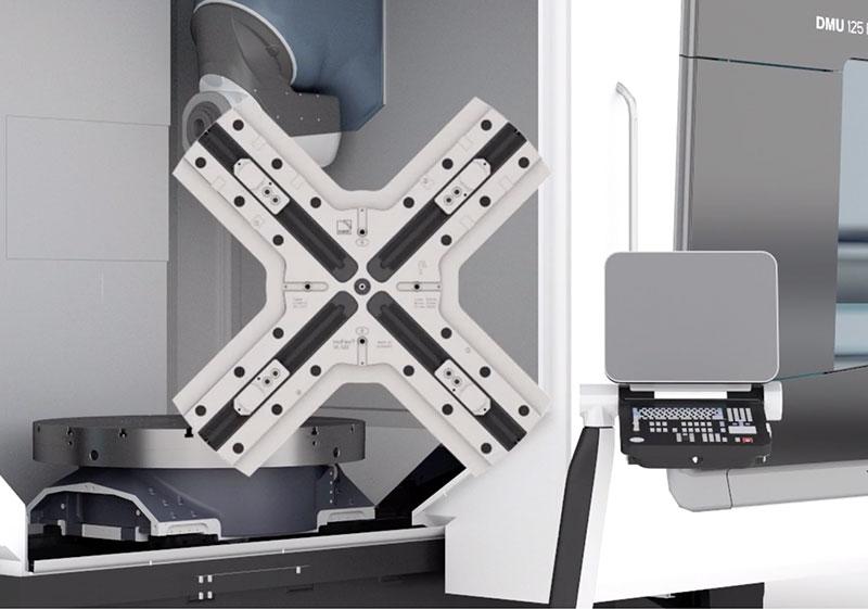 InoFlex VL auf DMG FD Maschine